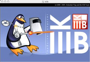 k3b, software de grabación de CDs-DVDs para GNU/Linux