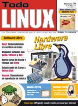 Portada revista Todo Linux, con curso de WordPress