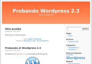 Wordpress galder.net