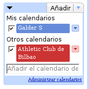 Calendario Athletic Club Bilbao Google Calendar