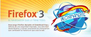 Logo descarga Firefox 3