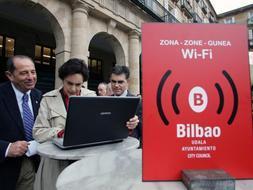 Wifi gratis en Bilbao