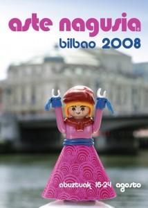 Cartel de la Aste Nagusia del 2008