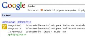 Imagen de búsqueda de baloncesto. Olimpiadas