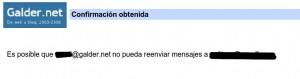 Redirección Gmail para tu dominio obtenida