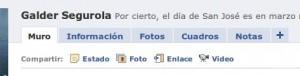 Facebook no me deja publicar en el mi muro