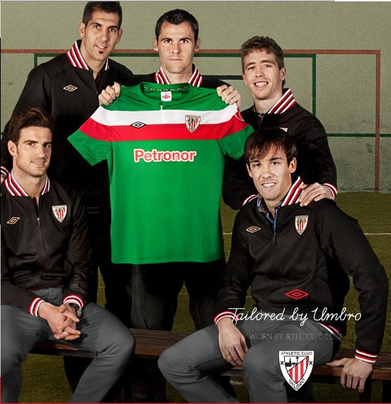 Camiseta verde del Athletic de Bilbao