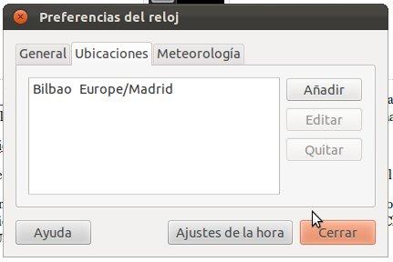 Mostrar temperatura por Ubicación en Ubuntu