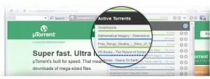 Control de Utorrent Lenovo Q150