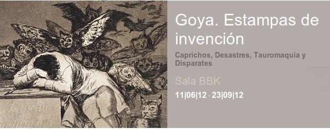 Estampas grabados de Goya en Bilbao