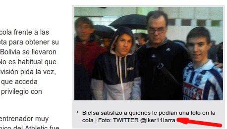 Imagen del Diario Sport citando Twitter