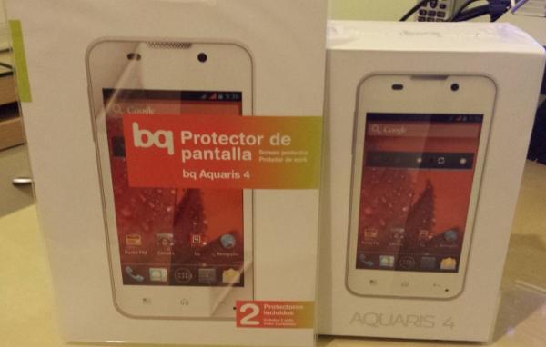 BQ Aquaris 4 y protector